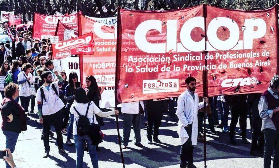 Cicop insiste con el pedido de aumento salarial al gobierno de Axel Kicillof.