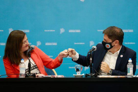 El gobernador Axel Kicillof destacó la creación de un comité interministerial para combatir la violencia de género.