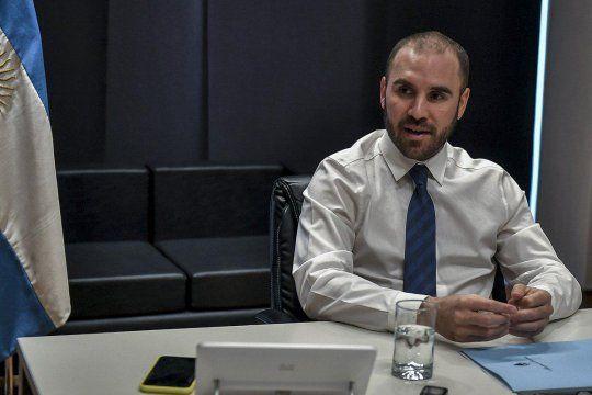 El ministro de Economía, Martín Guzmán, evaluó la situación económica del país y la cotización del dólar.