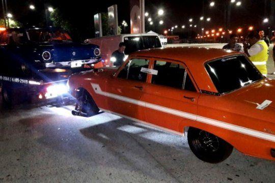incautaron mas de 50 autos que participaban de picadas ilegales en cercanias a tecnopolis
