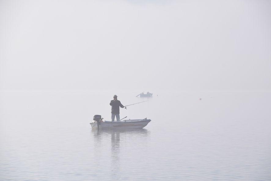Los pescadores permanecieron varados durante más de tres horas