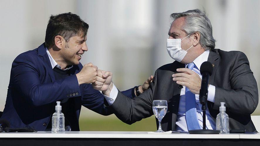 Alberto Fernández cruzó a la oposición en un acto en Merlo