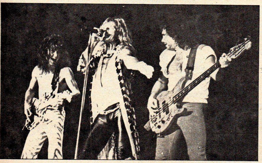 Cobertura periodistica de la visita de Van Halen a Obras