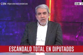 Aníbal Fernández dijo que votaría en contra de la expulsión del diputado Ameri, quien protagonizó un escándalo en el Congreso