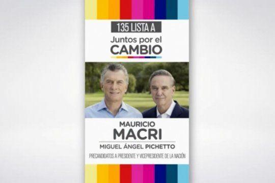 juntos por el cambio tambien lanzo su campana publicitaria: mira el spot de macri-pichetto