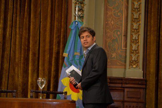 kicillof demorara la presentacion de su primera declaracion jurada como gobernador
