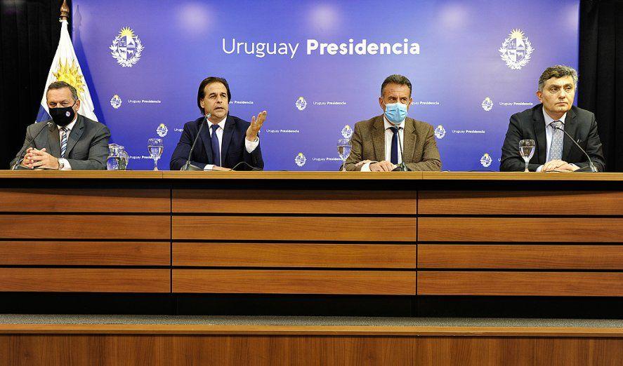 El presidente de Uruguay anunció el cierre de fronteras en verano y estallaron los memes (Foto: Presidencia de Uruguay)