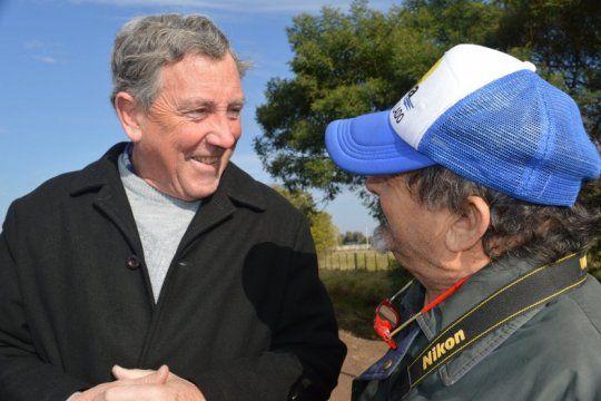 el intendente de pila, espiado por la afi: me da lastima esa argentina y la tenemos que cambiar