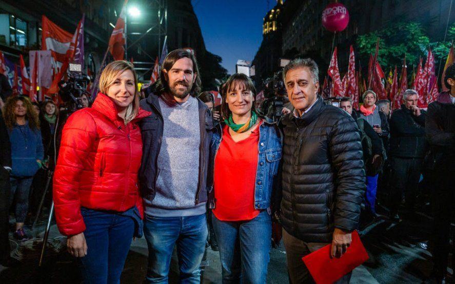 El Frente de Izquierda confirmó su fórmula presidencial y su primer diputado por la provincia