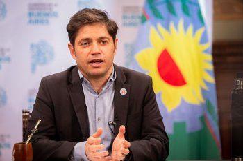 Axel Kicillof manifestó su desacuerdo con las palabras del ex presidente
