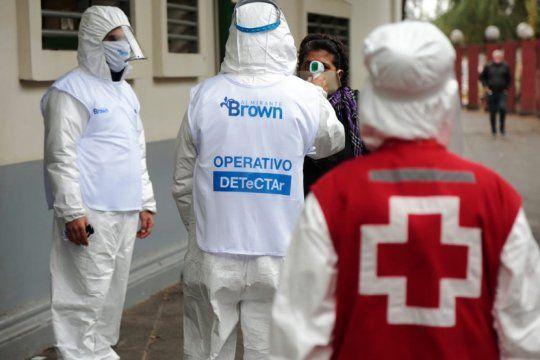 detectar en almirante brown: el municipio realiza 15 mil testeos por dia