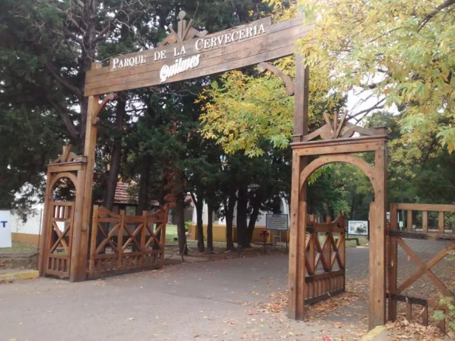 El Parque de la Cervecería Quilmes, otro clásico de esta ciudad del Conurbano bonaerense