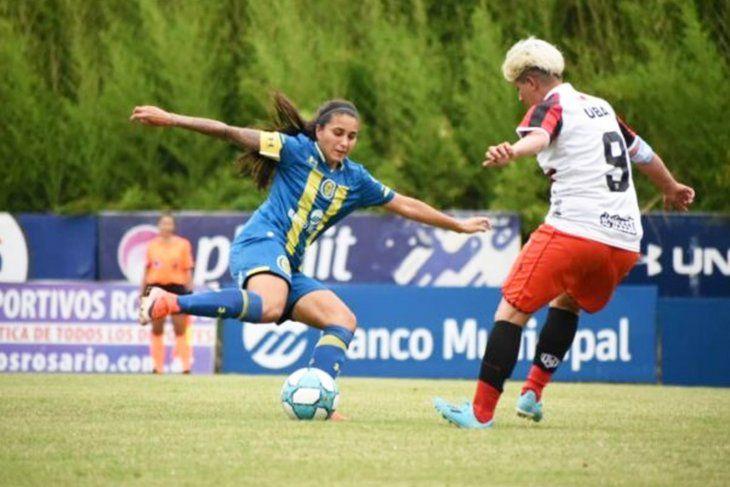 Valeria Gómez, de Rosario Central al Sporting FC.