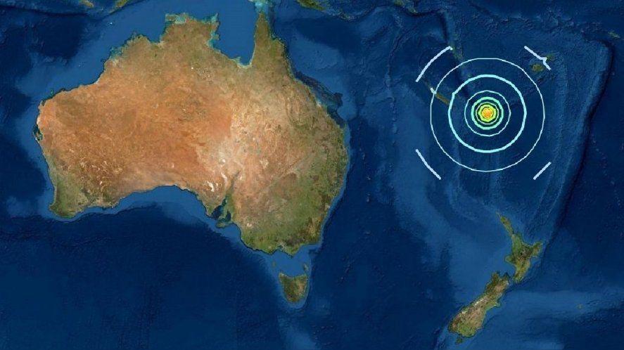 Reportan un Tsunami en Australia tras un sismo en el Pacífico