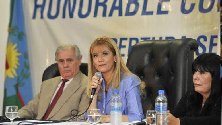 Magario abrió las sesiones ordinarias con un discurso de alerta frente a la situación de las Pymes