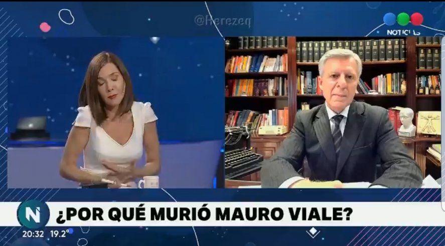 Cristina Pérez mezcló en una pregunta la eficacia de la vacuna Sinopharm