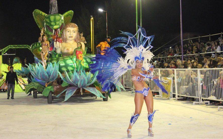 Presentaron el Carnaval del sol en Dolores con la presencia de Virginia Gallardo