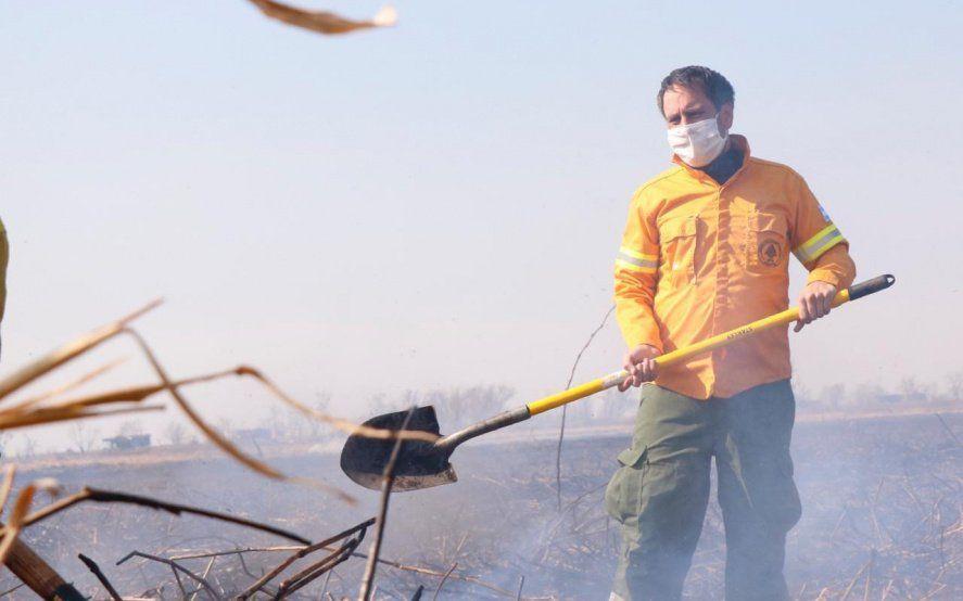 Los incendios en el Delta abren un nuevo conflicto entre el Gobierno y el Campo
