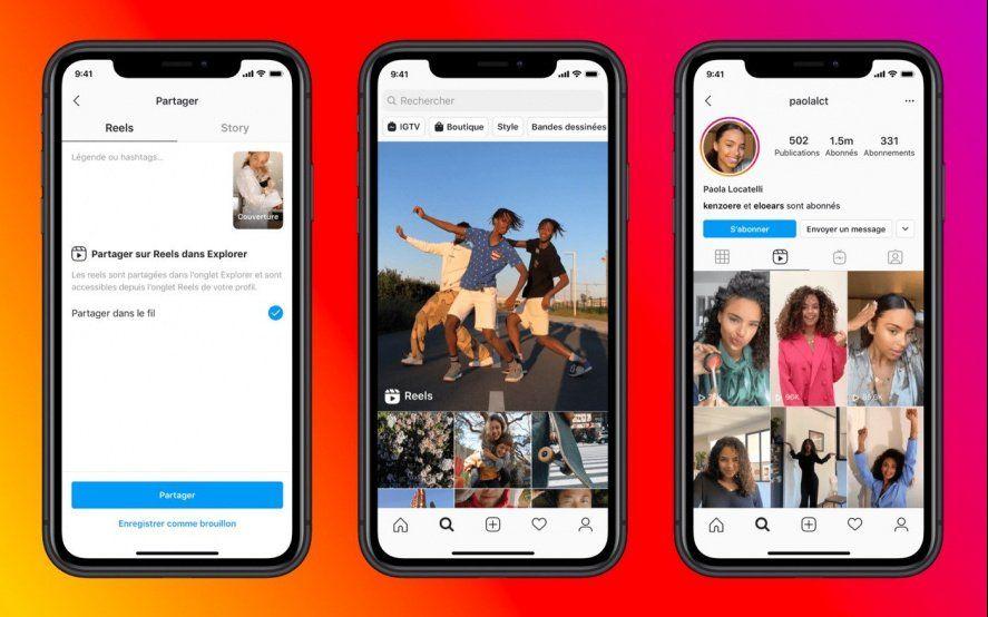 Instagram lanza Reels, una nueva herramienta para competir contra TikTok