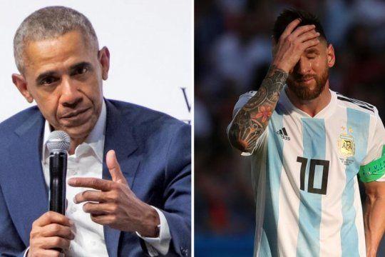 el consejo de obama para que argentina sea campeon con messi