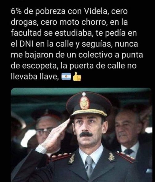 Bahía Blanca: sumarian a una fiscal por reivindicar a Videla