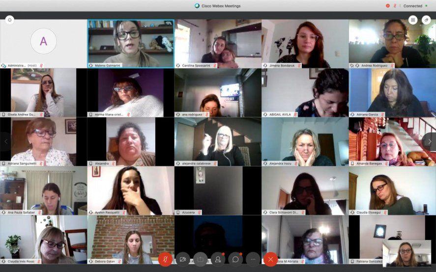 """Las """"Mujeres FR"""" tuvieron su primer Encuentro Nacional virtual"""
