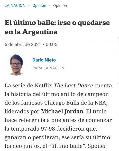 Darío Nieto, el ex secretario privado de Macri, ahora es editorialista de La Nación