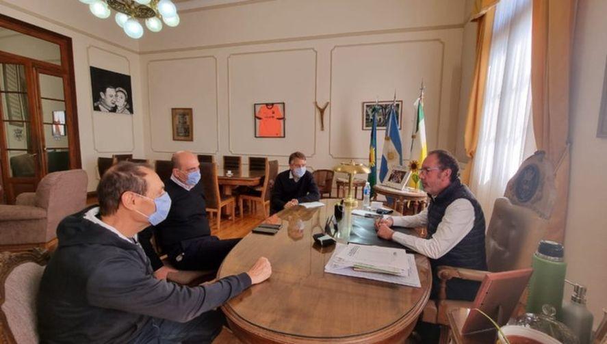 Intendentes y municipales avanzan en los acuerdos paritarios