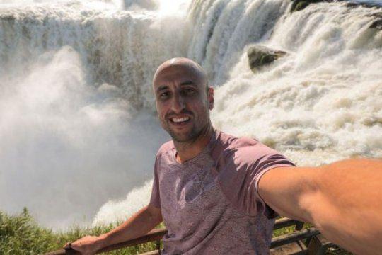 mira el video de manu ginobili en las cataratas del iguazu para promocionar la argentina