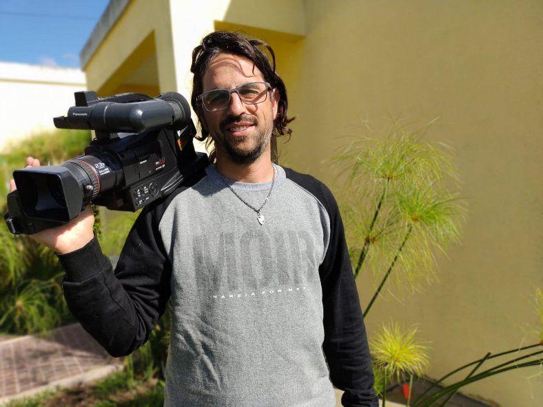Leonardo Mudano, periodista y youtuber. Investigó el caso de los ovnis en Magdalena