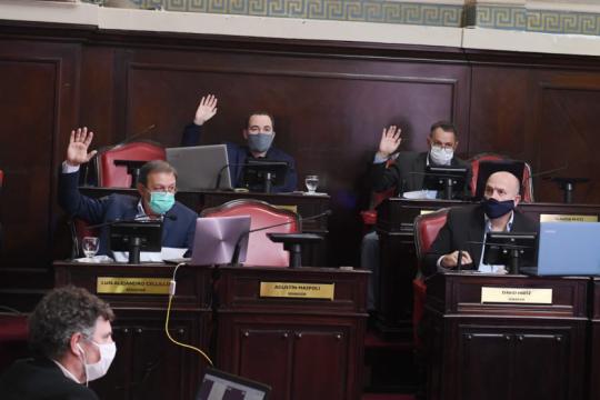 senado: la oposicion exige que se constituya la comision de asuntos constitucionales y acuerdos