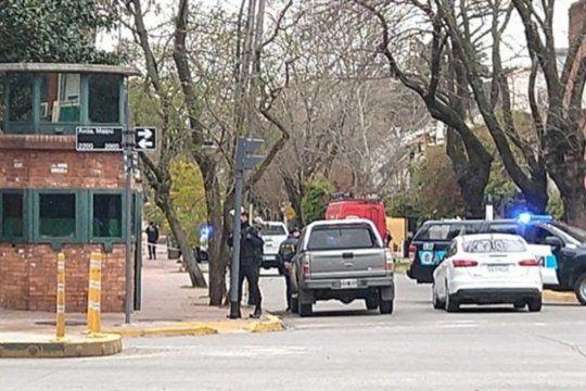 Un hombre fue detenido por arrojar una molotov en la Quinta presidencial de Olivos