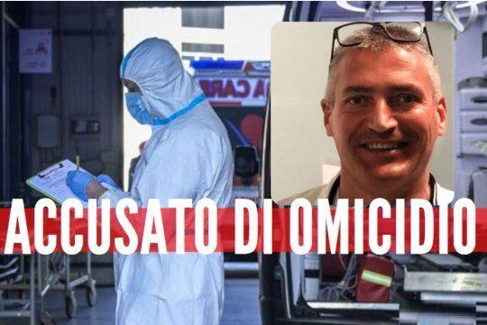 Asi tratan los medios de Italia la noticia del médico acusado de homicidio en medio del pico de contagios de coronavirus en marzo