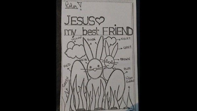 """""""Jesús, my best friend"""", la tarea de una docente de inglés que preocupa a un grupo de padres"""