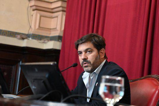 Bianco visitó la Legislatura bonaerense