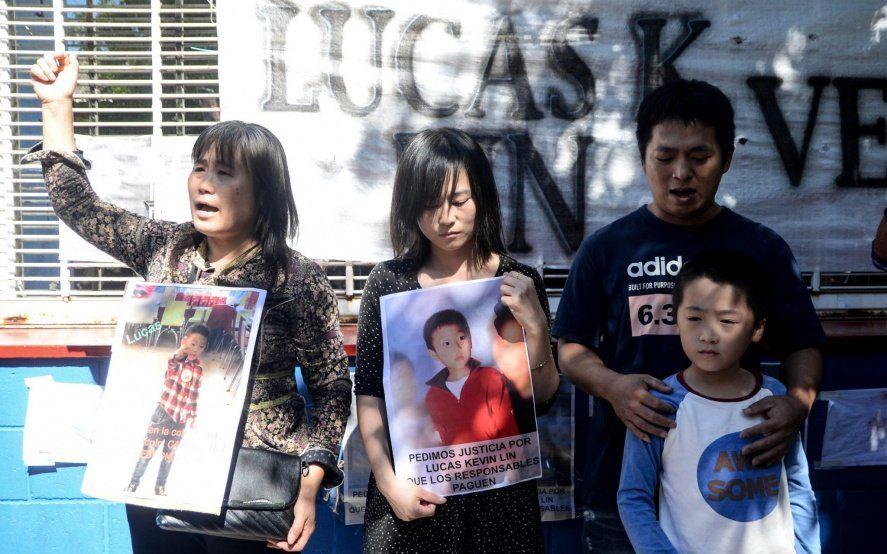 Familiares y allegados del nene ahogado marcharon para pedir que encarcelen a los responsables