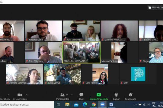 Los presos de la Unidad 48 participaron de un zoom para el lanzamiento del proyecto cultural