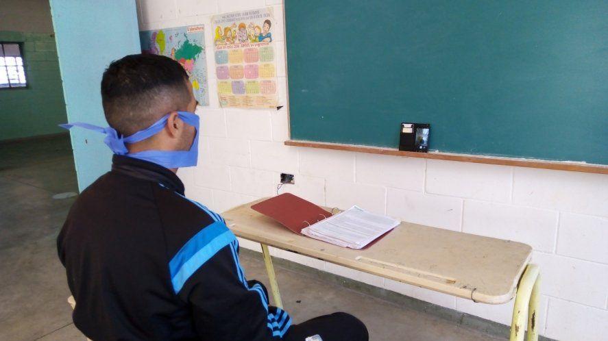 Cristian estudia Comunucación Social en la UNICEN