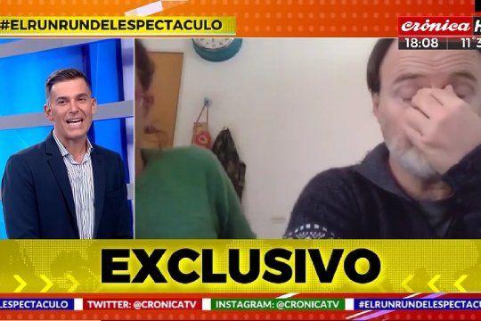 Luis Machín se enojó porque lo hicieron esperar para una entrevista, pero el conductor decidió sacarlo del aire