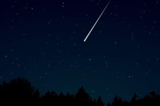 eta acuaridas: despues del asteroide, llega la lluvia de meteoritos del cometa halley