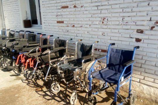 presos restauraron sillas de ruedas para ayudar a pacientes con cancer: ?me lleno el alma?