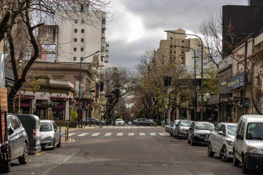 La Plata volvió a fase 1 y hay poca gente en la calle