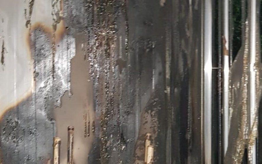 Angustia: quemaron un aula y vandalizaron una escuela en General Rodríguez