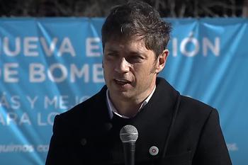 El gobernador Kicillof inauguró la Estación de Bombeo de Junín