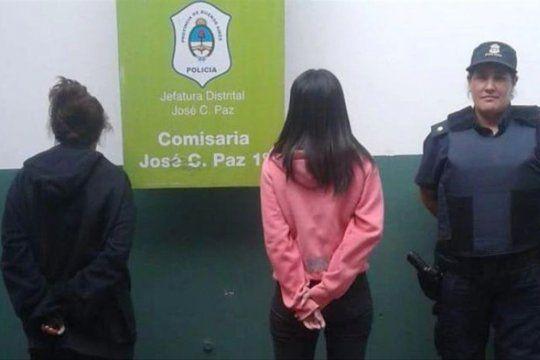 Las imputadas por el crimen de las 186 puñaladas cuando fueron detenidas