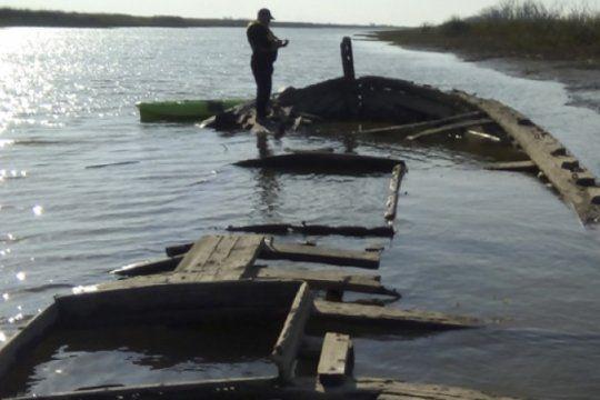 97 anos despues: descubren un buque mercante que naufrago en el rio parana