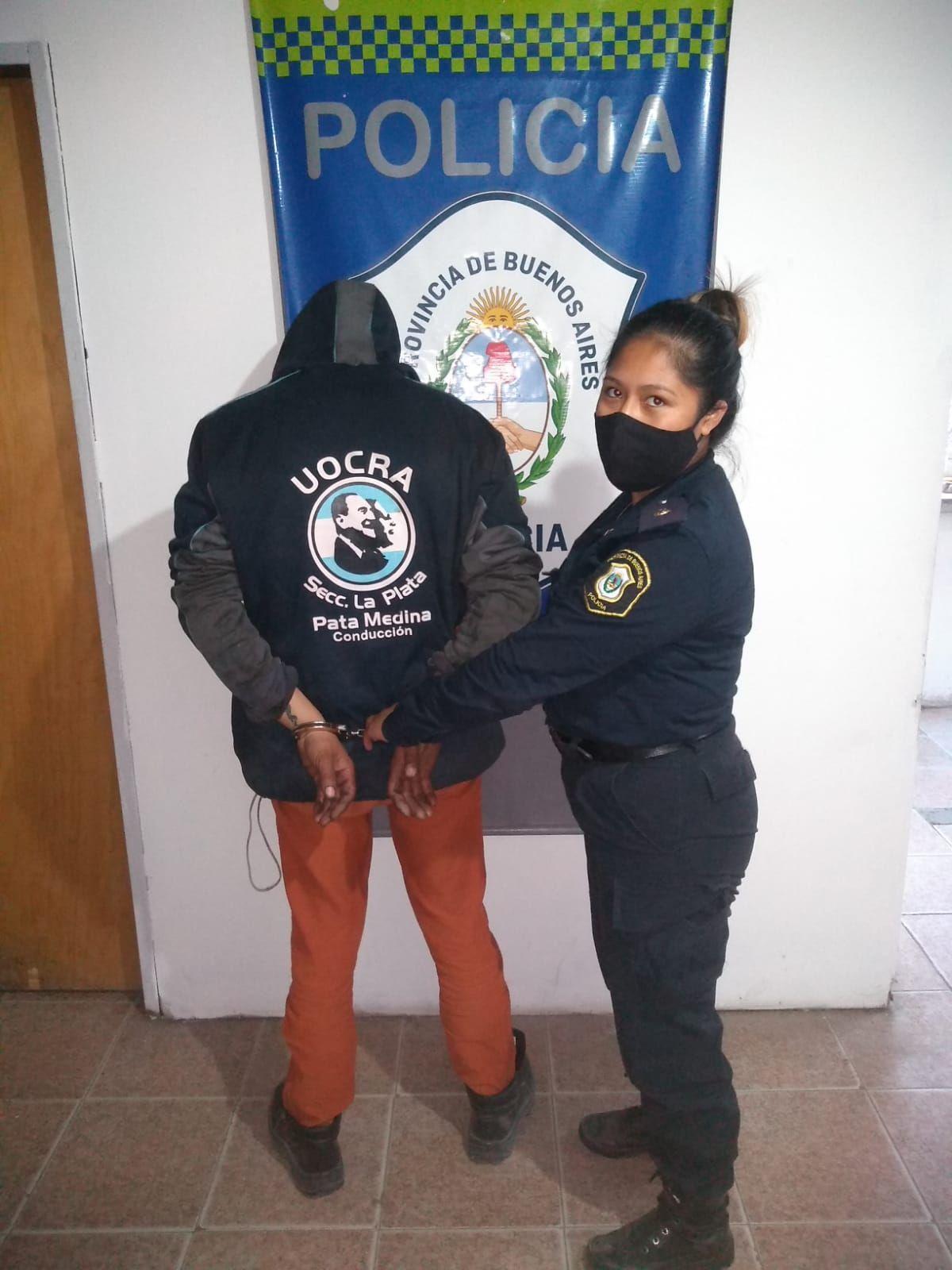 El presunto depravado fue detenido en el Barrio Aeropuerto