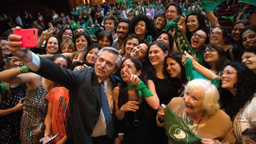 Se promulga el aborto:El presidente Alberto Fernández encabezará el acto que comenzará a las 18.30
