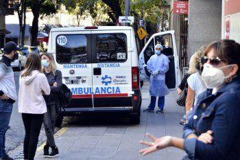 Coronavirus: otra vez récord de muertes en el país