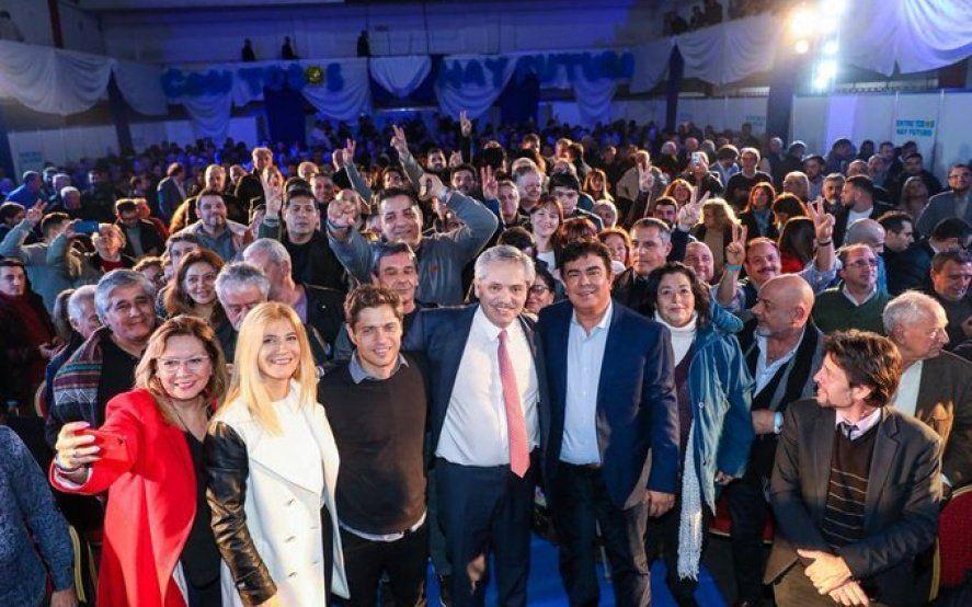 Alberto y Kicillof encabezaron un acto en La Matanza junto a pequeños y medianos empresarios